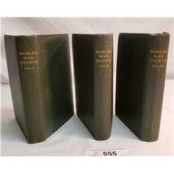 3 Ww1 Books Vol 1,2,3