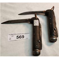 Two Knives Ixl Canadian Ww1