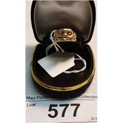 10K Gold First Nations Ring