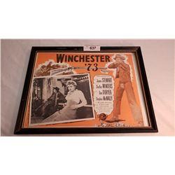 Original Lobby Card Winchester Advertising