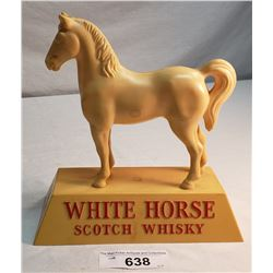 Vintage White Horse Scotch Whickey Ad