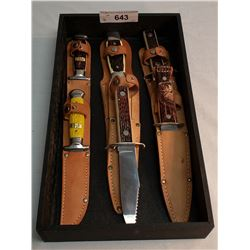 6 New Colonial Hunting Knives