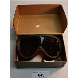 Military Goggles In Box