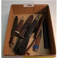 Box Of Knife Sheaths