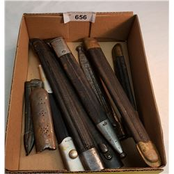 Box Of Scabbards