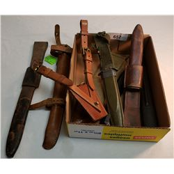 Military Leather Scabbards
