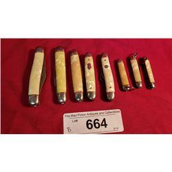 9 Assorted Pocket Knives