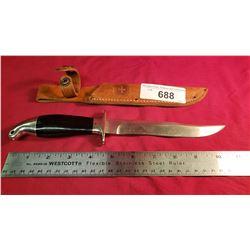 Custom Knife And Sheath