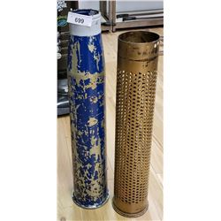 Large Artillery Shell And Incendiary Shell
