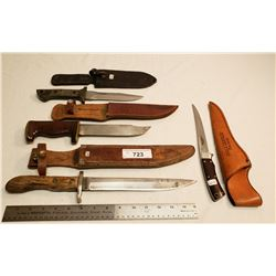 4 Vintage Knives