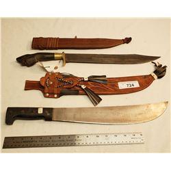 Machete And Knife