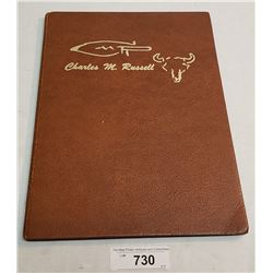 Vintage Book By Charles Russel With Illustrations