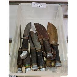 8 Hunting Knives