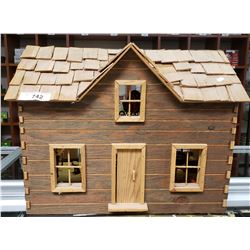 Hand Made Doll House With Furniture