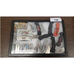 Case Lot Of Advertising Knives