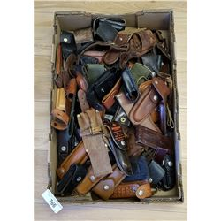 Great Lot Of Vintage Knife Cases