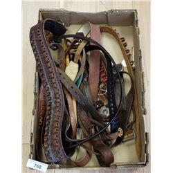 Vintage Leather Belts