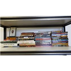 Large Shelf Lot Of Reference Books