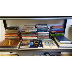 Huge Shelf Lot Of Books