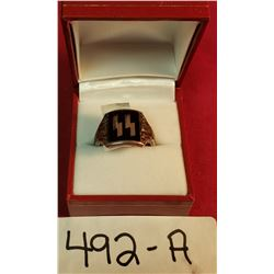 German Silver Ss Ring