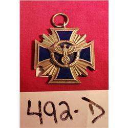 Ww2 Nsdap Long Service Medal 2Nd Class National Socialist Party
