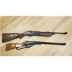 Pair Of Working B.B. Gun Rifles