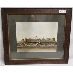 Old Fort Gary Winnipeg 1869