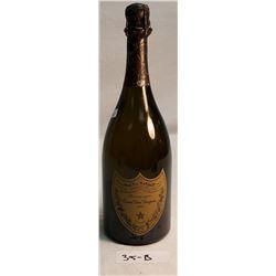 1990 Sealed Bottle Of Dom Perignon Champagne