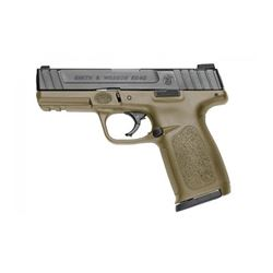 """S& W SD40 40SW 14RD 4"""" FDE FS 2MAGS"""