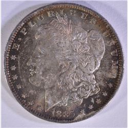 1885-O MORGAN DOLLAR  GEM BU