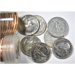 1969-P & D ROLLS WASHINGTON QUARTERS