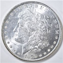1878 7TF REV. OF 78 MORGAN DOLLAR CH BU