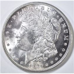 1921-D MORGAN DOLLAR CH/GEM BU