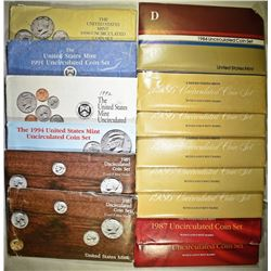 U.S. MINT SET LOT: ORIG PACKAGING