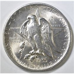1935 TEXAS COMMEM HALF DOLLAR CH BU