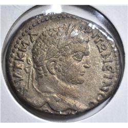 198-211 AD LARGE SILVER TETRADRACHM