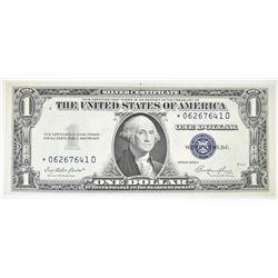 1935 E $1 SILVER CERTIFICATE  STAR NOTE