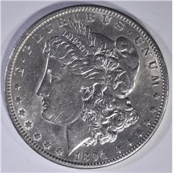 1894-O MORGAN DOLLAR  AU/BU  MARK OBV.