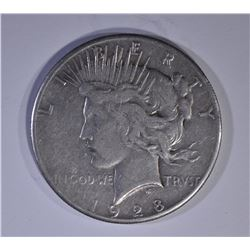 1928 PEACE DOLLAR   VF
