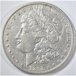 1892-O MORGAN DOLLAR XF/AU