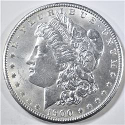 1900 MORGAN DOLLAR GEM BU