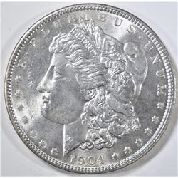 1904 MORGAN DOLLAR CH/GEM BU