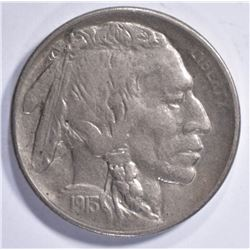 1913-S TYPE-1 BUFFALO NICKEL, AU