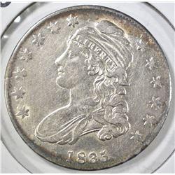 1835 BUST HALF DOLLAR, AU