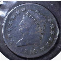 1810 LARGE CENT, VG