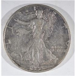 1928-S WALKING LIBERTY XF+