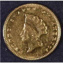 1855 TYPE 2 GOLD DOLLAR AU/BU