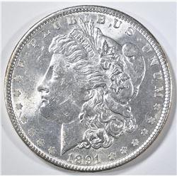 1891 MORGAN DOLLAR CH BU