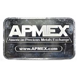 FIVE OUNCE .999 AMPEX SILVER BAR