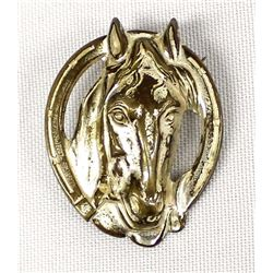 Vintage Estate Horse Head Pin